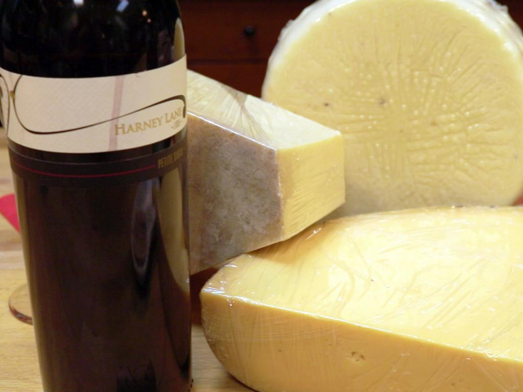 Central Cheese and Harney Lane wine pairing in Lodi, CA